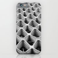 iPhone & iPod Case featuring American Cement Building - Architectural Photography by Simbiotek