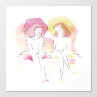 Les Demoiselles de Rochefort Canvas Print