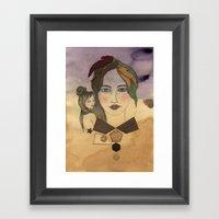 Clod Framed Art Print