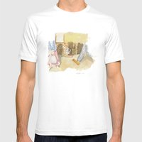 Please A Little Help! Mens Fitted Tee White SMALL