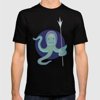 Lil Alien - Squiddy  Mens Fitted Tee Black SMALL