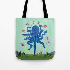 Otto Learns How To Juggl… Tote Bag