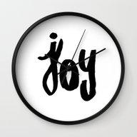 Wall Clock featuring My Joy  by Allyson Johnson