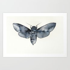 MOTH. Art Print