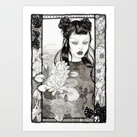 The Frog Princess Art Print