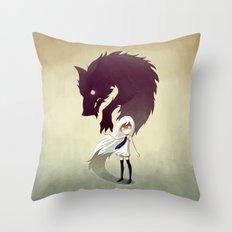 Werewolf Throw Pillow