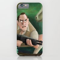 iPhone & iPod Case featuring Clever Girl by Matt Malette