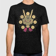 The Cult Of Shenron: Jap… Mens Fitted Tee Tri-Black SMALL