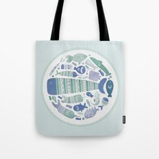 Little Fishes Tote Bag