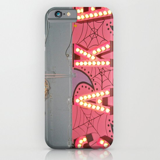 Cake ~ pop carnival signage iPhone & iPod Case