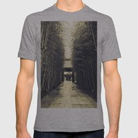 Japan 3 Mens Fitted Tee Athletic Grey SMALL