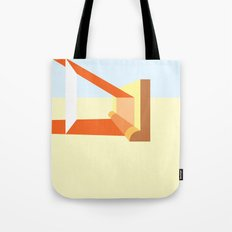 Orange Light Tote Bag