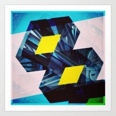 Industrial Symmetry Art Print