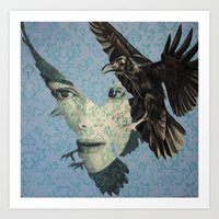 Nameless Here For Evermo… Art Print