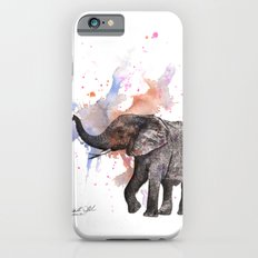Dancing Elephant Painting iPhone 6 Slim Case
