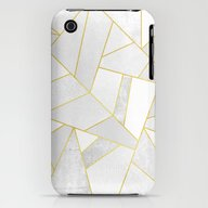 White Stone iPhone (3g, 3gs) Slim Case