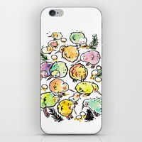 Kiwi Family iPhone & iPod Skin