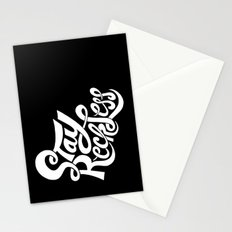 Stay Reckless Stationery Cards