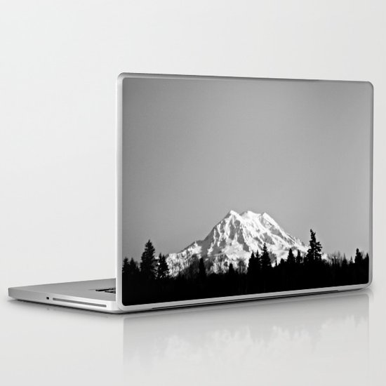 Mt. Rainier Laptop & iPad Skin