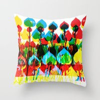unscripted Throw Pillow