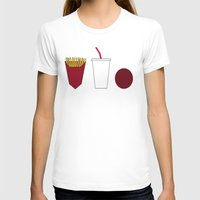 Aqua Teen Hunger Force M… Womens Fitted Tee White SMALL