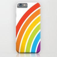 A Rainbow World iPhone 6 Slim Case