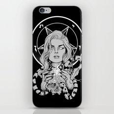 Black Mass Ritual iPhone & iPod Skin