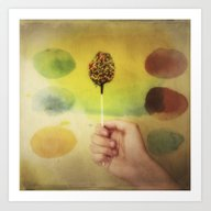 Once Upon A Time A Color… Art Print
