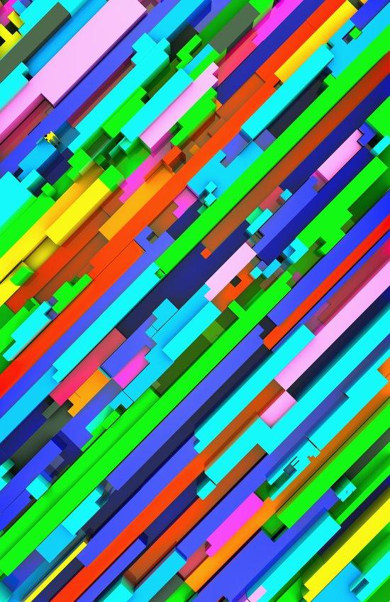 NeonGlitch 3.0 Canvas Print