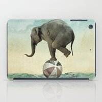 Elephant At Sea iPad Case