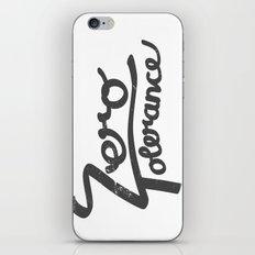 Zero Tolerance iPhone & iPod Skin