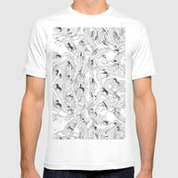 Zebra Cowboys Mens Fitted Tee White SMALL