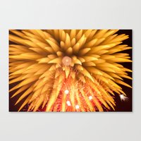 Fireworks - Philippines 8 Canvas Print