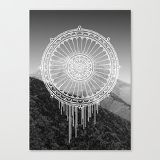 Montain Mark Canvas Print