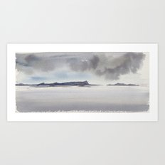 mare del nord Art Print