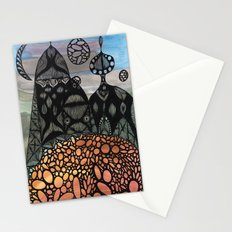 King and Queen Stationery Cards