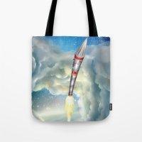 The Remarkable Rocket Tote Bag