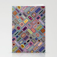 Multi-color Melody Stationery Cards