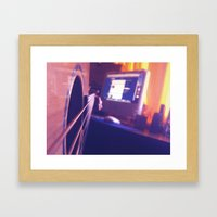 What else would you be doing?  Framed Art Print