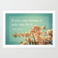 If You Can Dream It Art Print