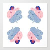 Lighthearted Canvas Print