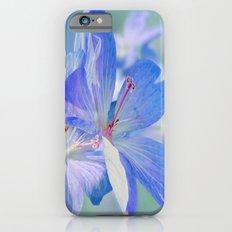 FLOWERS - Geranium endressii iPhone 6s Slim Case