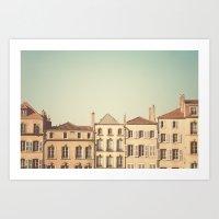 Designated Town Of Art &… Art Print