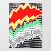 Isometric Harlequin #1 Canvas Print