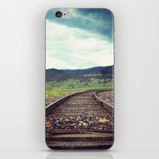 Travel Alone iPhone & iPod Skin