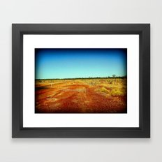 Concurry - Normonton Road - Outback Queensland Framed Art Print