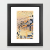 Discovery at Dusk Framed Art Print