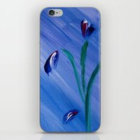 Flower On Canvas iPhone & iPod Skin