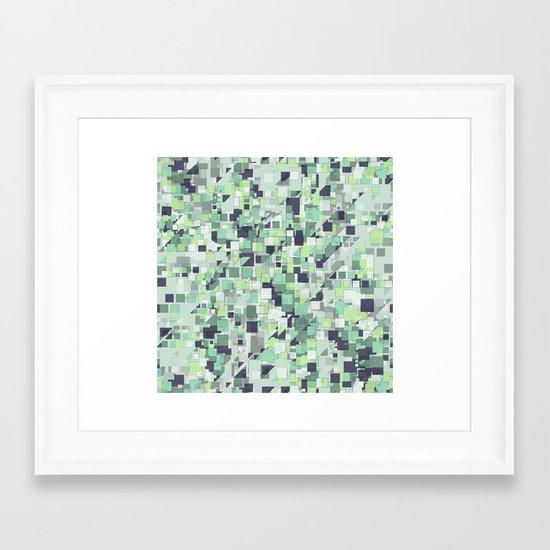 Cubic  Framed Art Print