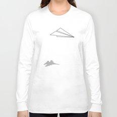 Paper Airplane Dreams Long Sleeve T-shirt